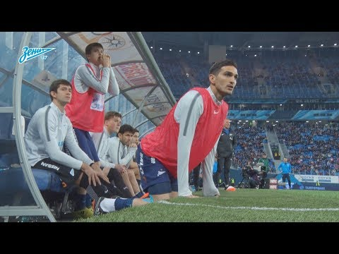 Скрытая камера «Зенит-ТВ» на матче с «Динамо»