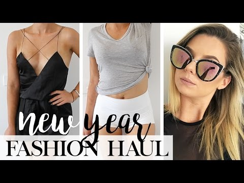 2017 Clothing Fashion TRY-ON Haul | New Year - New Style - New You