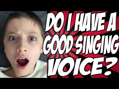 do i have a good singing voice youtube