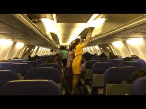 ได้ใจไปเต็มๆ  แอร์โฮสเตสสายการบินนกแอร์ บริการน่ารักมาก  Nok Air