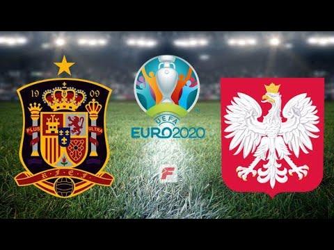 EURO 2020 İSPANYA-POLONYA MAÇI GAMEPLAY