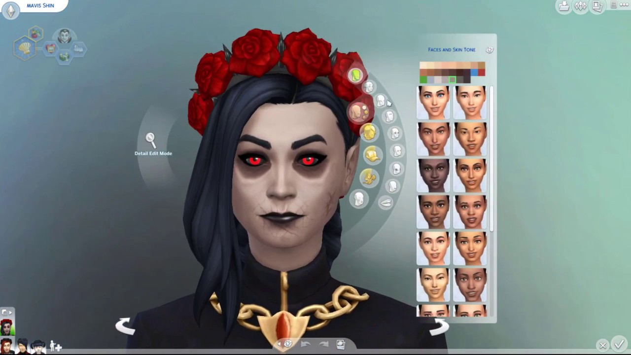 Sims 4 Vampires: E2 Fangs, Dark forms and underground coffin rooms ...
