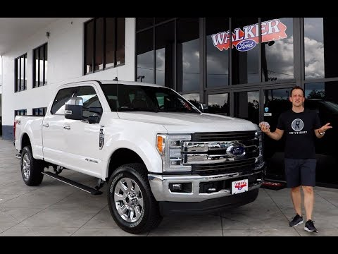 Why is the  Ford F- Super Duty King Ranch the RIGHT truck for the JOB? - Raiti&#;s Rides
