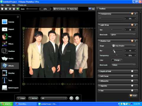 Photokey 3 Pro (Test) : Editing My Old Vocal Group Photo