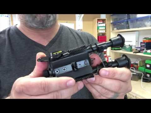 Caldwell XLA Pivot Bipod For Long Range
