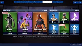 FORTNITE [ NEW SKIN : REVÊCHE / NEW PIOCHE : FER ROUGE ] 15-08-2019