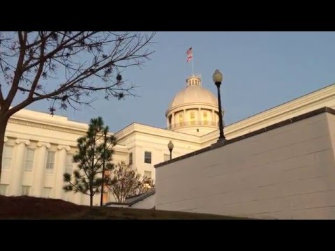 State Capital Building Montgomery Alabama