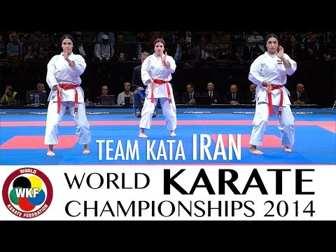Team Iran. World Karate Kata Championships