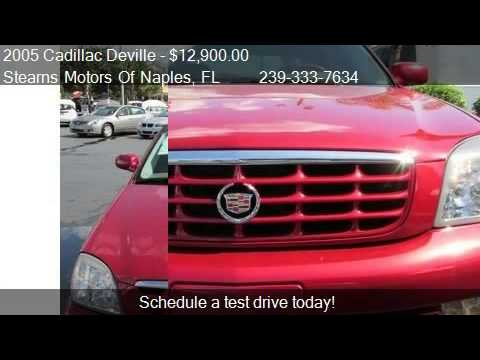 2005 Cadillac Deville DTS for sale in Naples, FL 34104 at ...