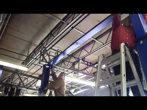 How To Install A 2 Post Car Lift - Bison 9KAC - 866-607-4022