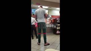 Dunkin' Donuts Customer Erupts Into Racist Temper Tantrum