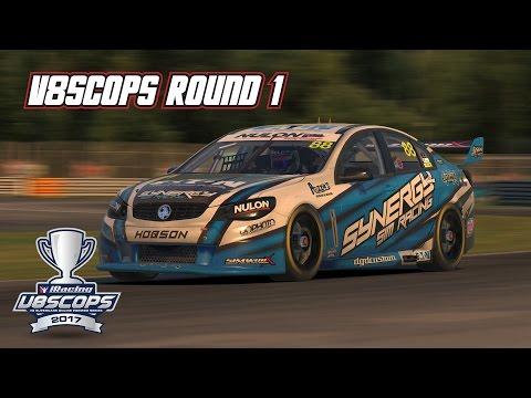iRacing: V8SCOPS Round 1 (V8 Supercar @ Montreal)