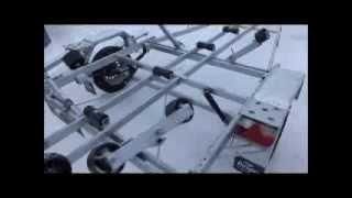 Прицеп для перевозки лодок и катеров Respo V59L