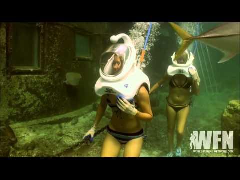 Mariko Tackles Black Marlin And Sea Walking