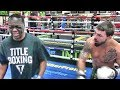"""Download mp3 UFC star """"Platinum"""" Mike Perry stops by the Mayweather Boxing Club to work with Jeff Mayweather for free"""