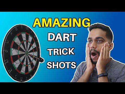 8 Amazing Dart Trick Shots! 100% REAL | NOT FAKE, WALLAH! | TMH Entertainment