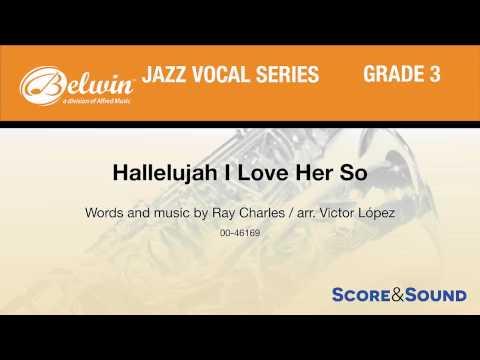 Hallelujah I Love Her So, arr. Victor López – Score & Sound