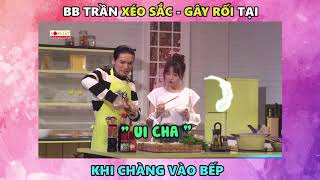 BB Trần xéo sắc, phá Hoàng Mèo khi đang thi đấu | Khi Chàng Vào Bếp : Tập 2 (17/07/2018)