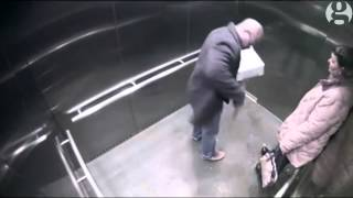 CCTV: Police officer accidentally shoots himself in Ohio elevator