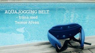 Träna i poolen med Aqua Jogging Belt