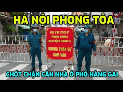 Hà Nội phong tỏa, chốt chặn căn nhà ở phố Hàng Gai, một bệnh nhân COVID-19 từng về nhà | News Tube