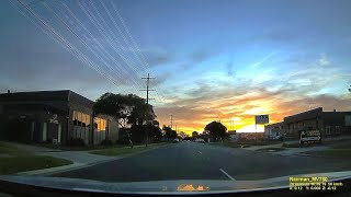 MELBOURNE SUBURBS, Australia  -  4K evening drive through SEAFORD