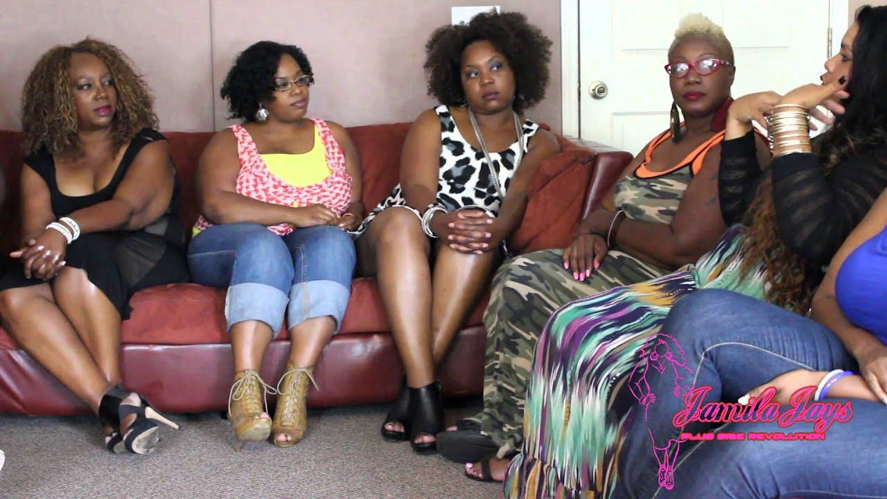 b4aa21922e6 Jamila jay plus size revolution model round table - YouTube