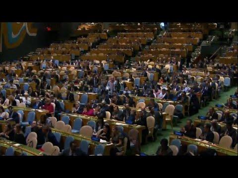 UN votes 128-9 to reject US decision on Jerusalem