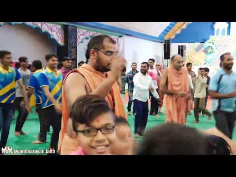 Mandvi Temple - 160th Patotsav - Shreemad Harivakya Sudhasindhu - Day 2 Raas Utsav Part 2