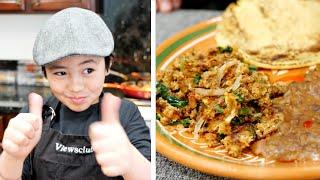 Machaca and eggs Recipe | Beef Jerky Recipes