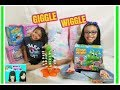 GIGGLE WIGGLE GAME REVIEW AND PLAY BY GOLIATH FAMILY FUN GAMES  KIDS TOYS GAMEA FUN KIDS GAMEBOARDS