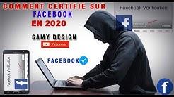 comment etre certifié sur facebook En 2020]