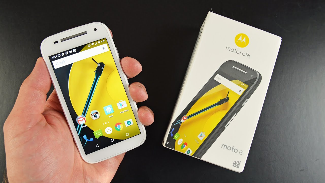Motorola Moto E (2nd Gen): Unboxing & Review - YouTube