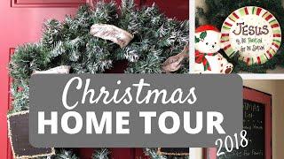 CHRISTMAS HOME TOUR 2018 | Simple Holiday Decor