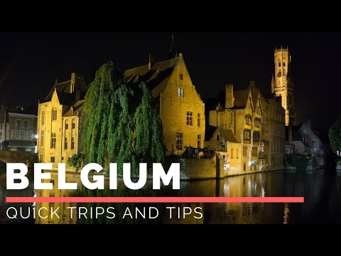 Tips for Brussels and Bruges