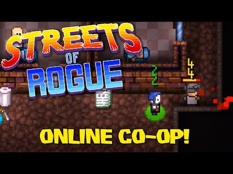 Streets of Rogue Coop Online - Industrial Blood Suckers [Streets of Rogue Coop Gameplay]