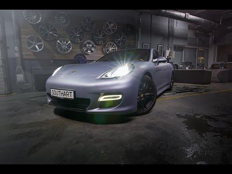 2017 Porsche Panamera 3M 1080 Matte Silver