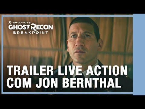 TRAILER LIVE ACTION DUBLADO COM JON BERNTHAL - Ghost Recon Breakpoint