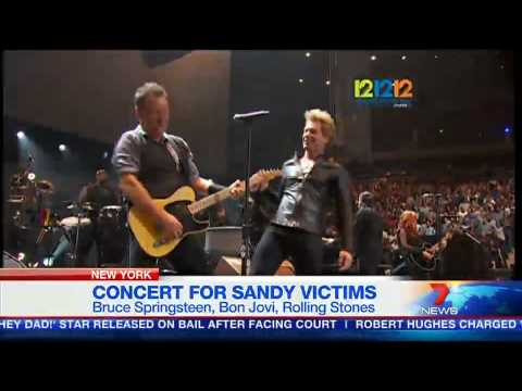 Concert for Sandy victims