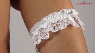 Bayan İç Çamaşırı İpli Beyaz Dantel ve Bacak Bandı Ürün Tanıtımı