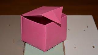 Origami: 'Schachtel' Falten mit Papier [W+]