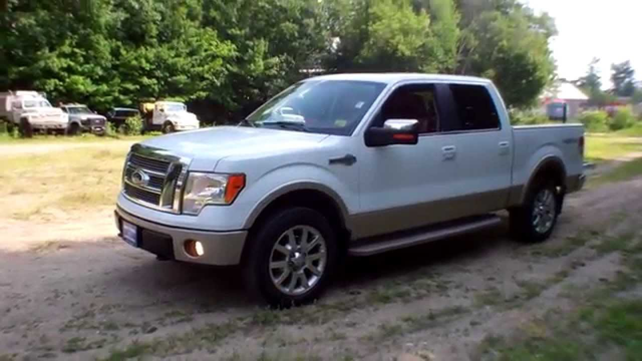 Used 2009 ford f 150 supercrew king ranch 4x4 for sale in maine youtube