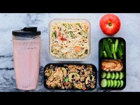 Easy Vegan Meal Prep in Under 1 Hour! BreakfastLunchDinner
