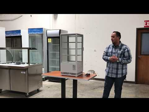 Countertop Desktop Refrigerated Display  COOLER Show Case Merchand Commercial Refrigerator