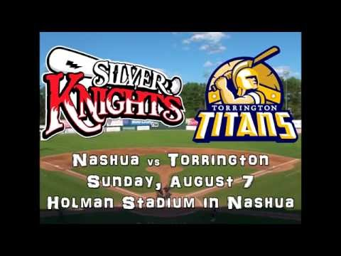FCBL Baseball - Nashua vs Torrington  8/7/16