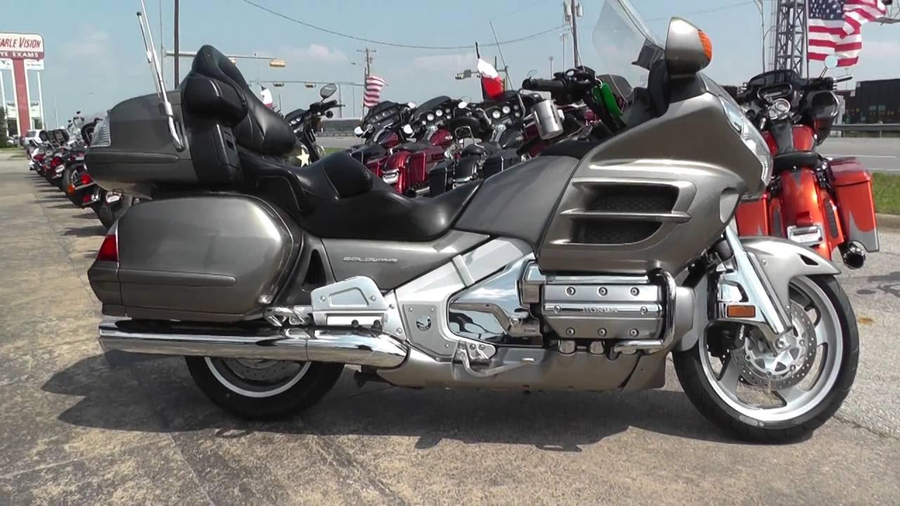 707506 2008 honda goldwing gl1800 used motorcycle for sale youtube. Black Bedroom Furniture Sets. Home Design Ideas