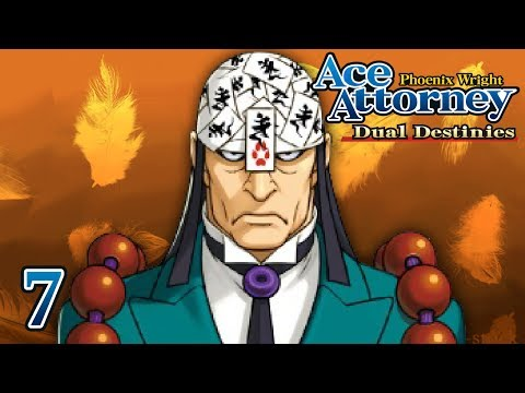 FORBIDDEN CHAMBER - Let's Play - Phoenix Wright: Ace Attorney: Dual Destinies - 7 - Playthrough
