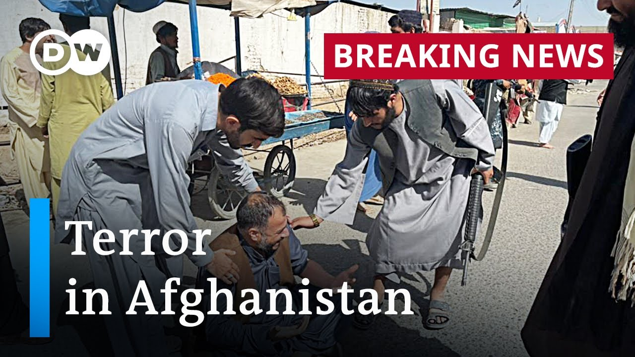 Download Afghanistan: Deadly blast hits packed Kandahar mosque, killing at least 32 | DW News