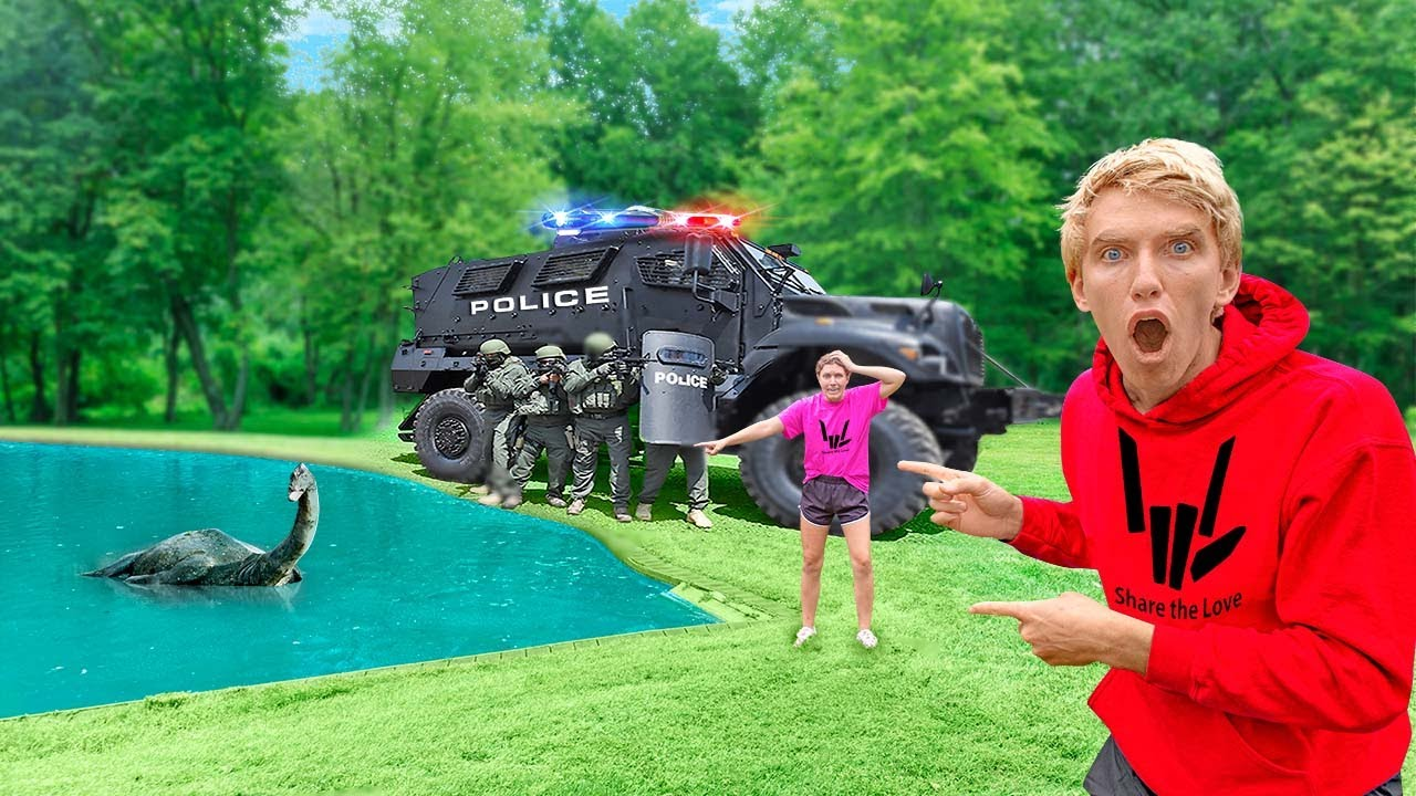 Download Grace Sharer FOUND by Animal Control Officers!! (Pond Monster is Back)