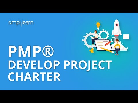 PMP® Develop Project Charter | PMP® Training Videos | Project Management Tutorial | Simplilearn